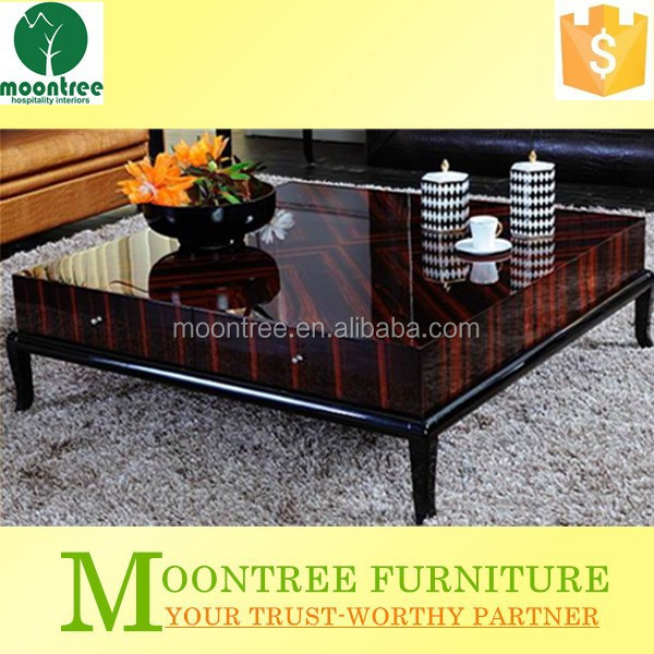 Moontree MCT-1104 High End Ebony Wood Chinese Furnitue Customized Coffee/Tea Table