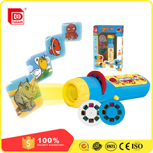 2017 Plastic Educational toys LED light projector toys with pictures