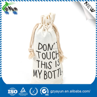 cotton carrier custom barrel personalized bag