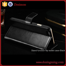 OEM Factory exclusive wallet stand Flip fold PU Leather pouch cover case for samsung galaxy fame S6810