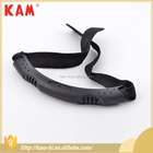 Professional black anti broken plastic handle for luggage
