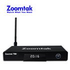 S905 Zoomtak Amlogic Android 5.1 tv a cabo internet iptv set top box com 2G RAM 16G Emmc
