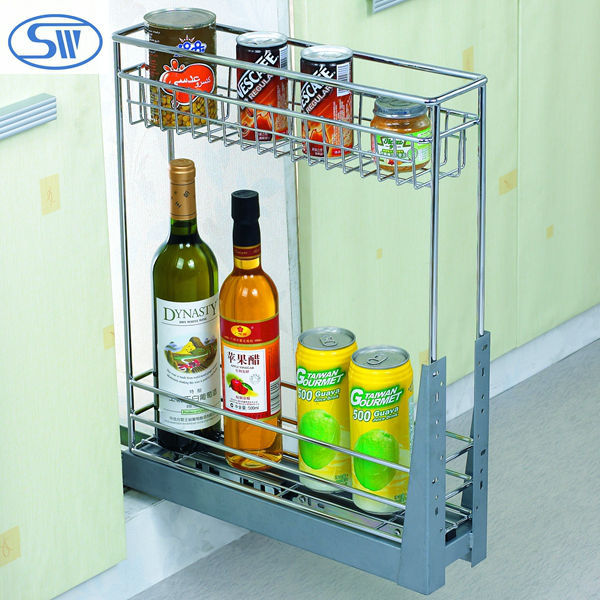 Factory driect supply WDJ631.632 cabinet sliding basket wire basket