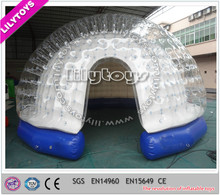 Outdoor airtight inflatable dome tent from lilytoys