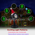 Outdoor Laser Christmas Light Projector with IR Wireless Remote Red and Green Star Laser Show for Christmas, Holiday, Parties, L