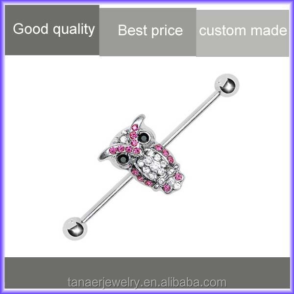 Beautiful wholesale fake industrial piercing