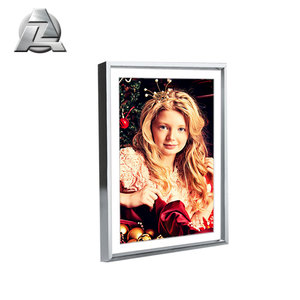 discount silver color Plastic Acrylic Mirror Aluminum picture photo frames