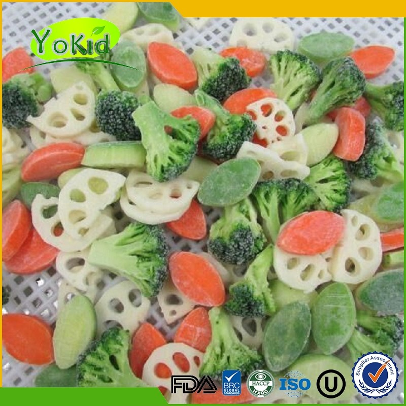 Trade Assurance All Speficications frozen mixed vegetable