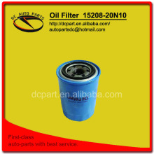 oil filter 15208-20N10 for NISSAN