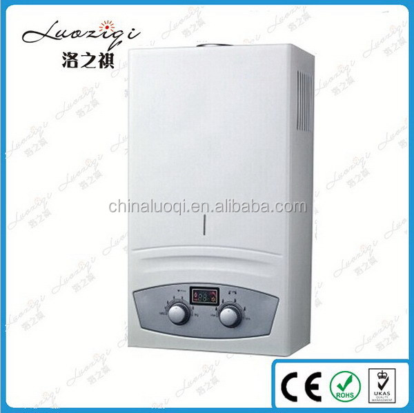 Design antique instant bathroom gas water heater