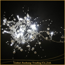 1.35M Battery Operated Christmas Pearl Led String Lights