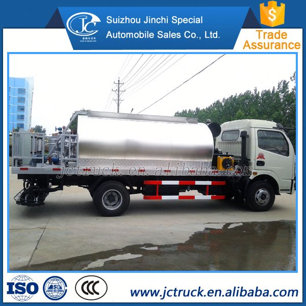 Low price small volume intelligent asphalt emulsion distribute truck wholesale price