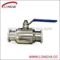 stainless steel food grade pipeline ball valve