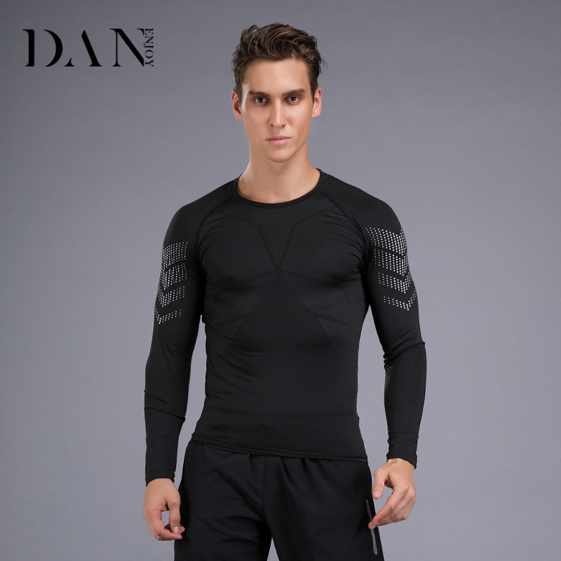 Novel design comfortable fitness exercise wear long sleeve oversized <strong>t</strong> <strong>shirt</strong> for man