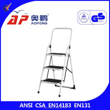 house hold use 3 steps foldable ladder high quality steel very convenient AP-1103C