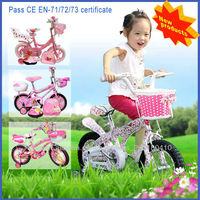 Brightly colored Pretty cute Nontoxic child bicycle racing bicycles for sale