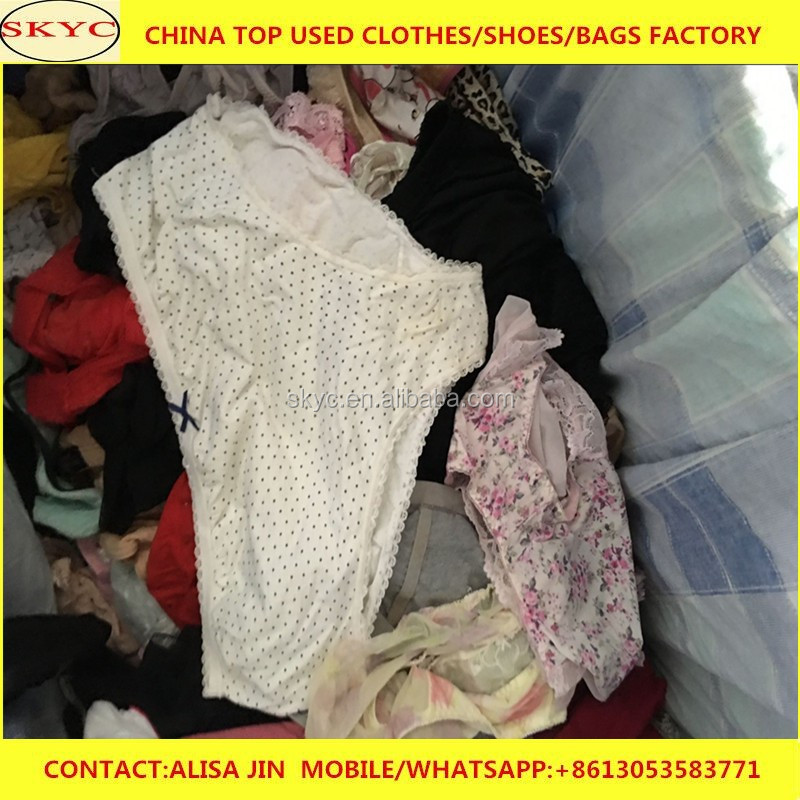 ladies used panties second hand clothes for adult women