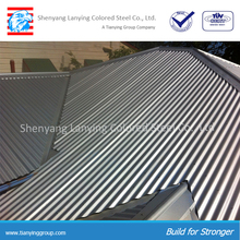 Galvanized sheet metal roofing price lowest price