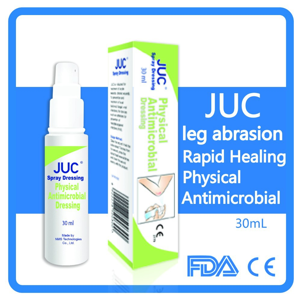 JUC first aid wound healing spray for cut knee pain relief