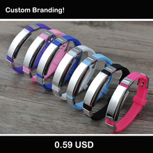 Drop Shipping Good Quality Personalized Stainless Steel Silicone ID Bracelet Custom Engraved Medical Alert ID Bracelet