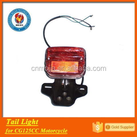 CG125 motorcycle parts tail light
