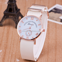 2015 october aliexpress hot selling unisex two pointer sport vogue watch