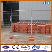 welded mesh fence panel / removable pool safety fence / temporary construction fence
