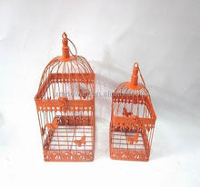 Metal handmade round decoration cage garden decor bird cage