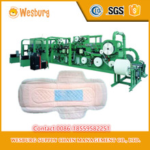 automatic used sanitary towel making machine