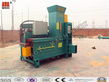 Continuous working small cake rice husk hydraumatic compress sack and bale machinery to reduce transit cost