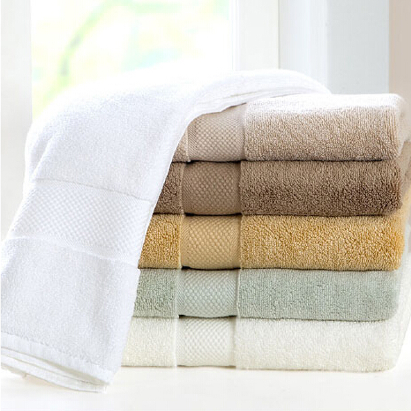 Wholesale 100% cotton hotel towel with factory price