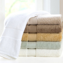 Wholesale combed pure cotton hotel towel beach towel spa salon towel with factory price