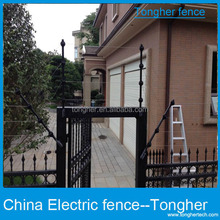 TONGHER New product solar electric fence energizer integrate with solar panel