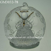 Xmas tree decorative glass ball for hanging