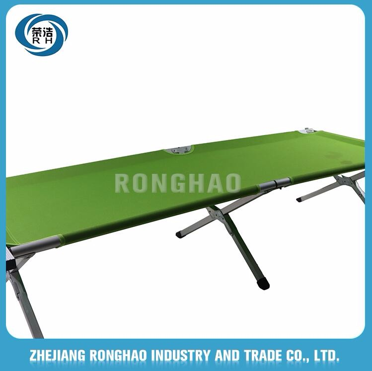 Best Band In China bottom price Unique design Popular cot bunk double portable folding camping bed