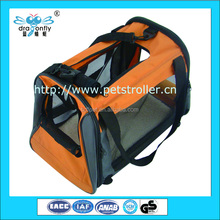 Folding Portable Custom Sturdy Bag Pet Carrier Outdoor Cat Travel Bag and Accessaries