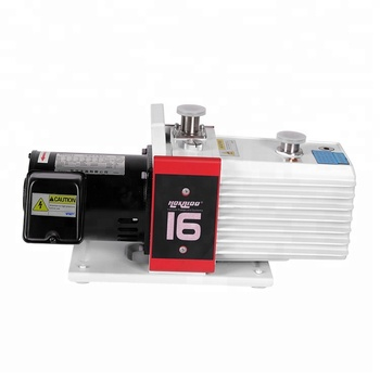 0.005 mbar Ultimate total pressure without gas ballast Double Stage Rotary Vane Vacuum Pump