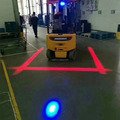 led forklift danger area warning line lights18w red zone light