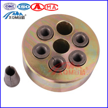 Wedge Slab Steel Wire Multiple Hole Post Tensioning Concrete Lifting Anchor System For Tendon