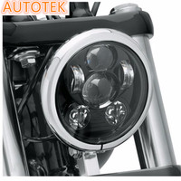 5.75 inch Motorcycle Projector Harley Daymaker 5-3/4 inch headlight Harley Dyan Motorcycle led headlight