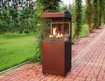 Outdoor Gas Heater TB4 Three side glass