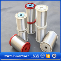 2015 hot saanping factory supply 304 306 316 stainless steel wirele food grade stainless steel wire