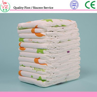 Babies age group and diapers/nappies type disposable baby diaper PE film printed feature with competitive price
