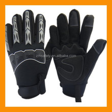 Thermal Lined Mechanical Glove With Kunckle And Finger Back Protection