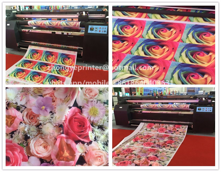 sublimation printing machine/sublimation printer for polyester fabric