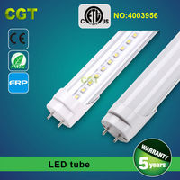 LED integrated T8 tube light 12W 18W 21W 24W 30W 5 years warranty CE Rohs
