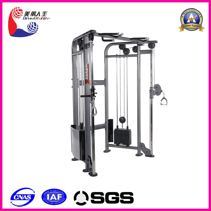 Indoor Home Use Dual Adjustable Pulley Gym Club Machine