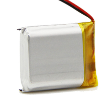 Supplier of 392850 3.7V 580mAh Charging Nimh Batteries