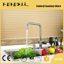 Brass Single Handle Bathroom Faucet UPC Kitchen Water Mixer Tap by china sanitary ware factory