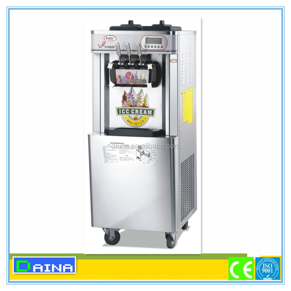 Trade assurance!!! hot products mobile soft ice cream machine for sale, ice cream freezer